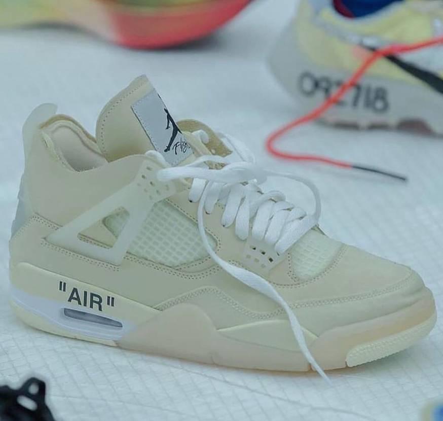 発売あるのかな?Off White x Nike Air Jordan 4