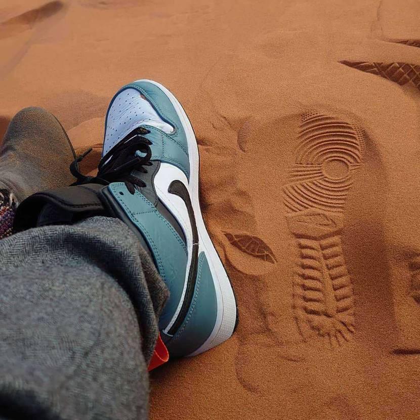 サハラ砂漠に履いていったら無限砂製造機になって帰ってまいりました(笑)