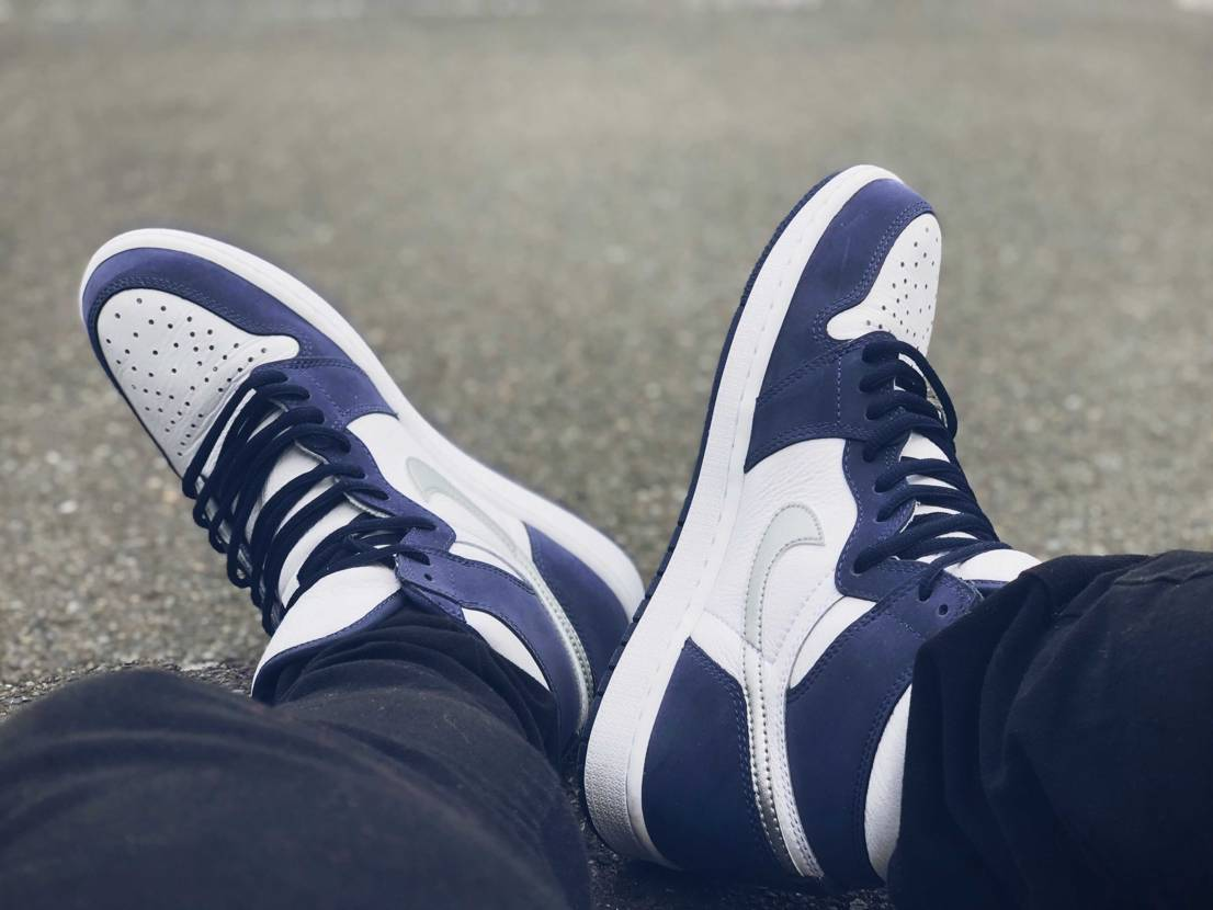 もう履いているだけでエモい。何この最強シューズ🥺 #AIR JORDAN #