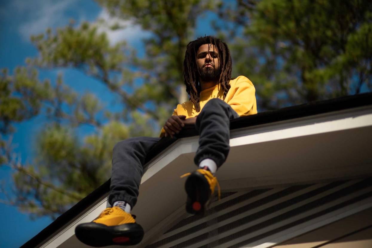 J. Cole マジでNIKEとコラボしてくんねーかな👀