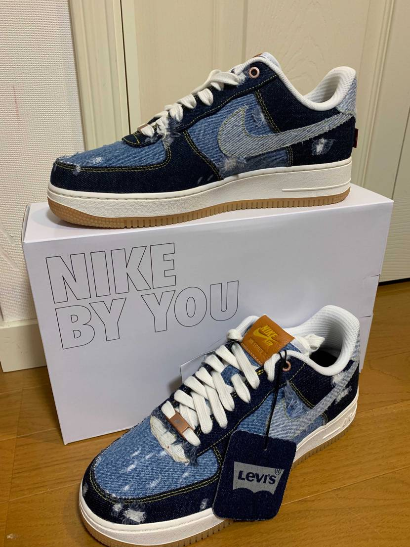 LEVI'S × NIKE BY YOU AIR FORCE 1 LOW 届き
