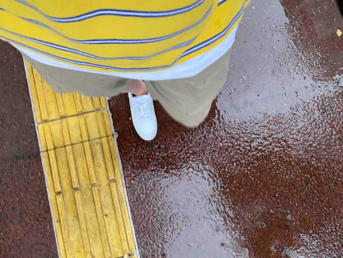 雨でもガンガン気にせず履けるの最高です^ ^