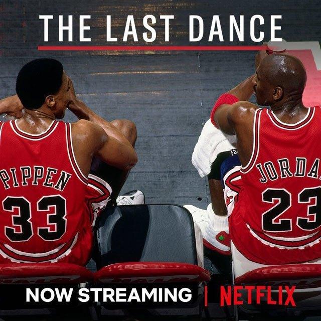 Netflixでやってるマイケル・ジョーダンのラスト・ダンスが面白い。 マジッ