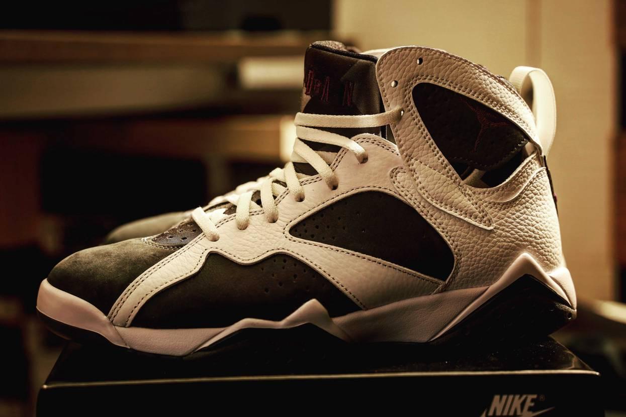 NikeでGOT'EMしたしAJ7は初なのでサイズ感だけ探って返品しようと思った