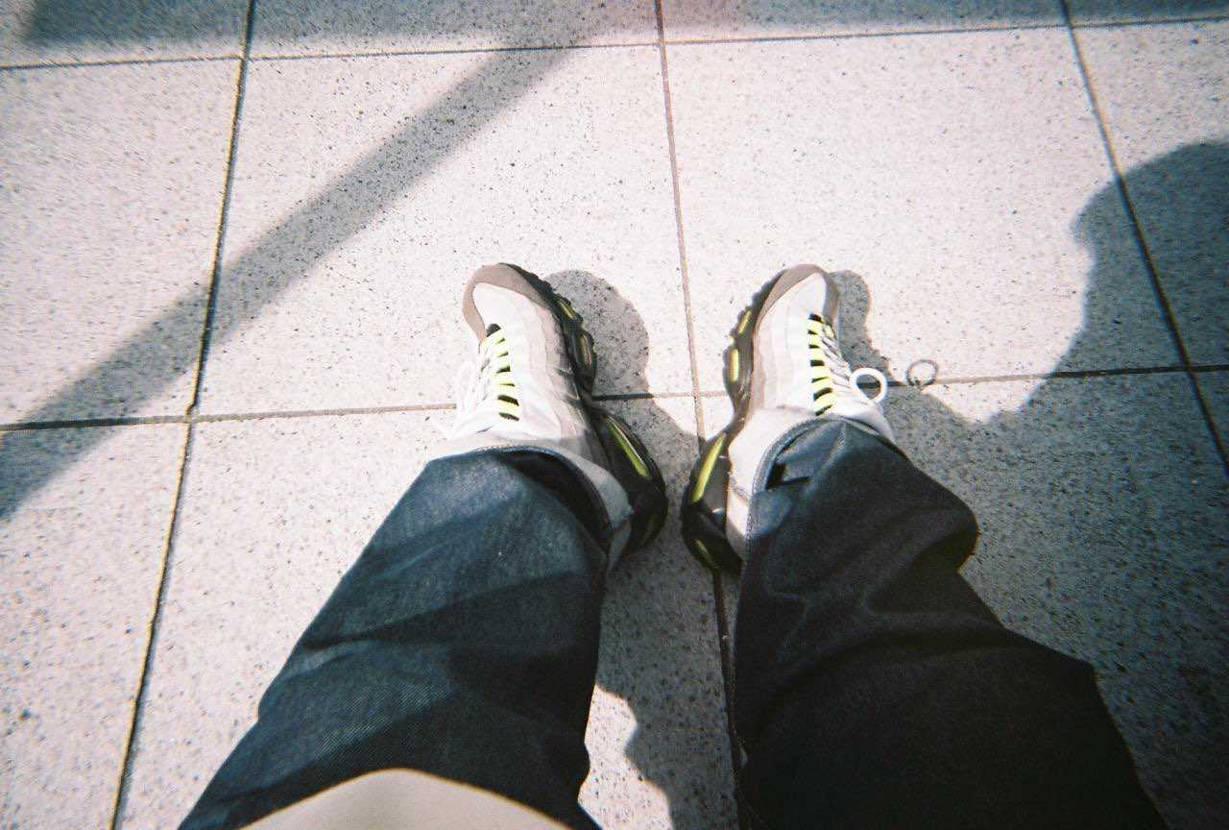 フィルムカメラで撮ったイエローグラデ。笑