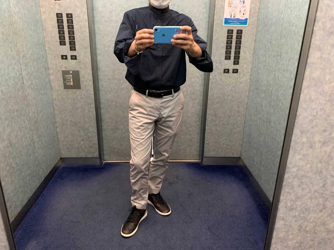 錆シャドー、最近めちゃくちゃ履いてます。 ビジネスに丁度良い感じと思ってますが