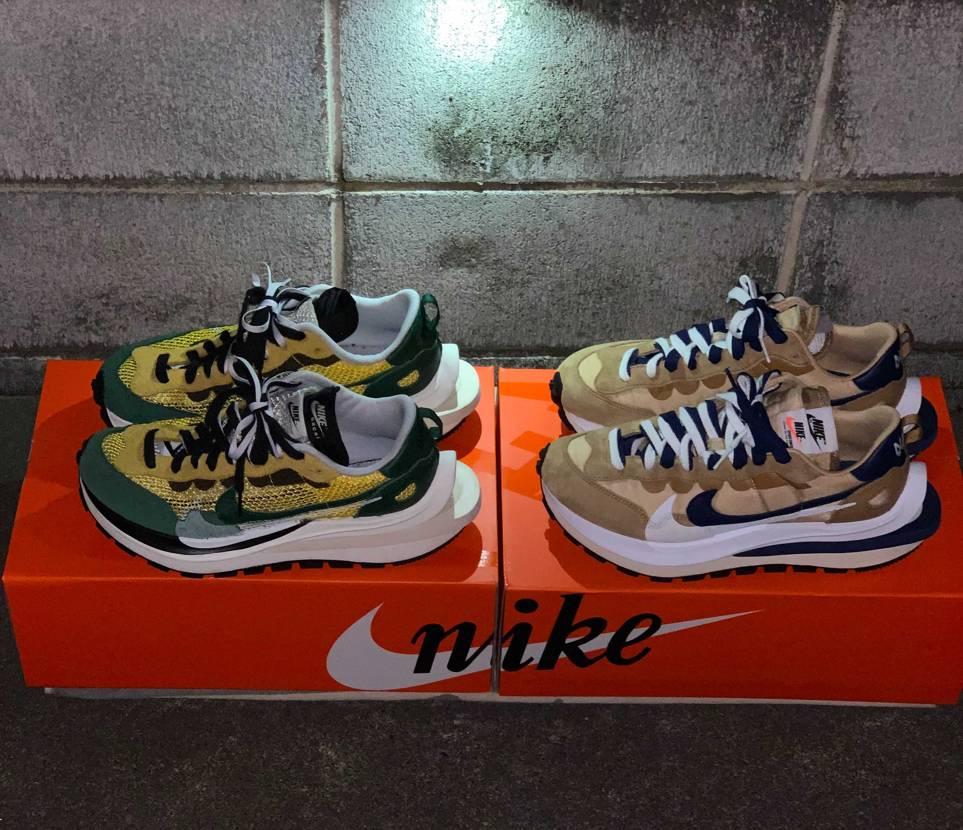 sacai × Nike ヴェイパーワッフルセサミの配色抜群に好き