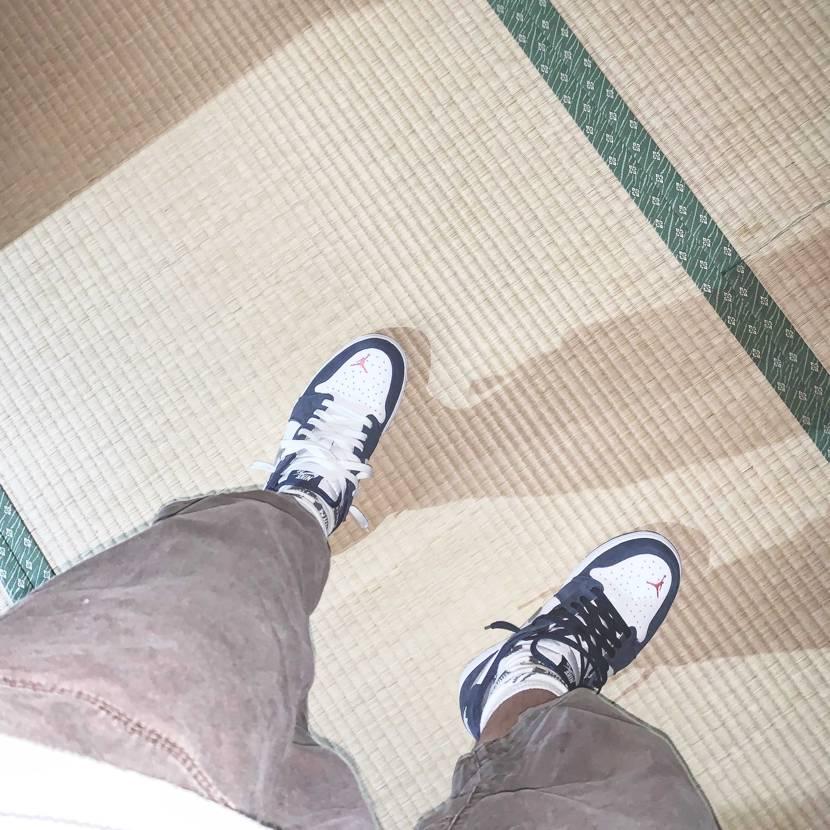 足が短ぇ#nike  27cm出品者さま感謝#畳#tatami