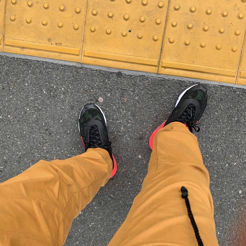 普段27.5cmから28cmを履いています。 この靴は本当に履きやすい