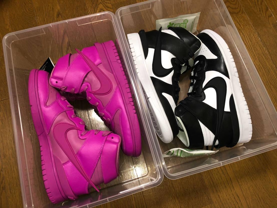 白黒はMA5、ピンクはパルコで買えたの嬉しすぎる! ピンクデビューする日は来る