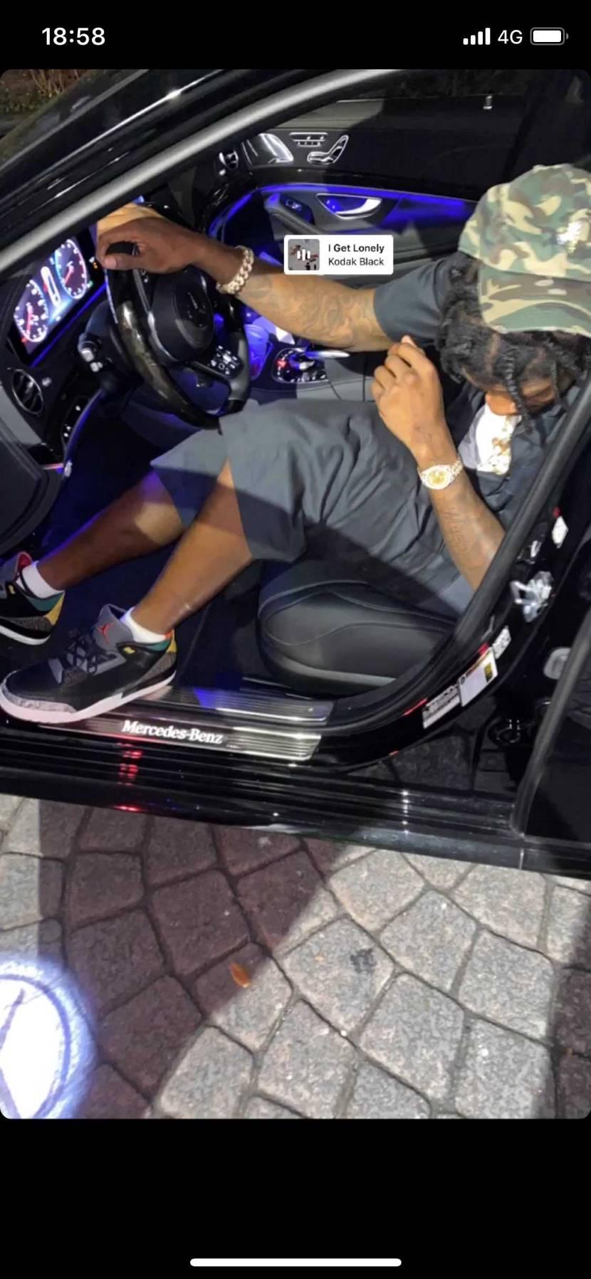 Lamar Jacksonがアニマル履いてる!!NFL詳しい人いるかわからないけ