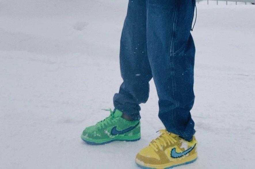 バカ履き‼️  その後、少し濡れました。 まっいいか‼️