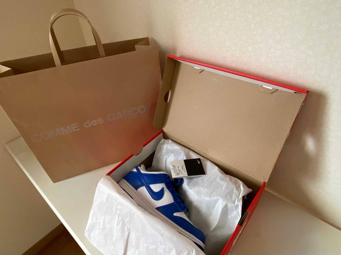 大阪のCDGで買いましたよ!ラッキー
