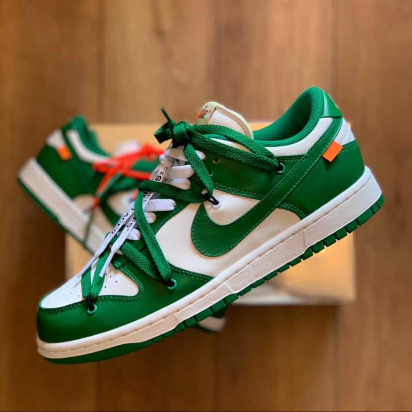 『Nike Dunk Low Off-White Pine Green』