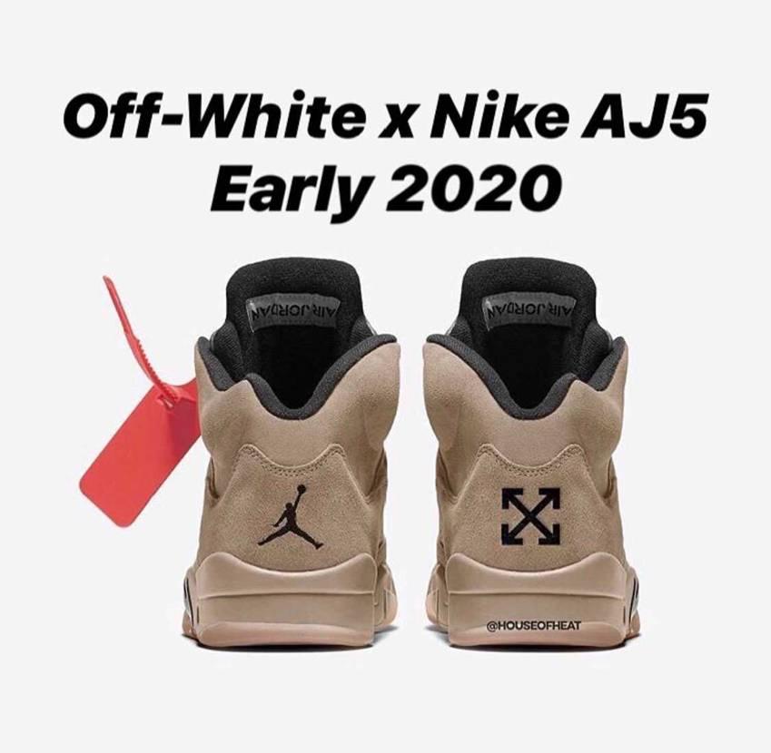 off-white × AJ5 リーク通りのデザインで発売してほしい