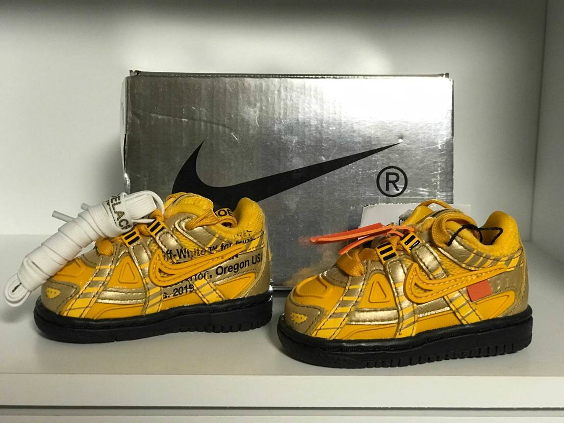 OFF-WHITE×NIKE AIR RUBBER DUNK TD 8センチ✨