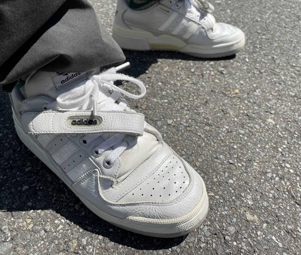 2001年のだけど中々履きやすい😅当時は履きづらいと思ってたのになぁ🤔
