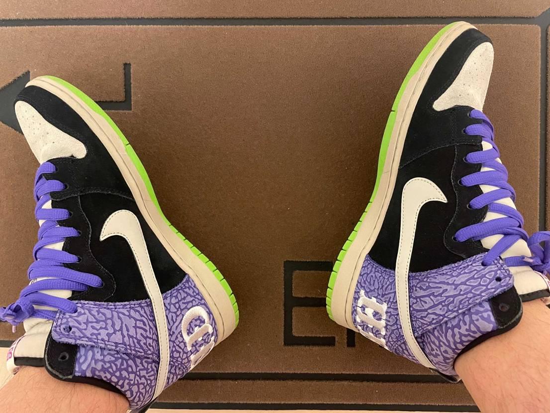 SEND HELP🔥紫の🐘柄がツボ👍