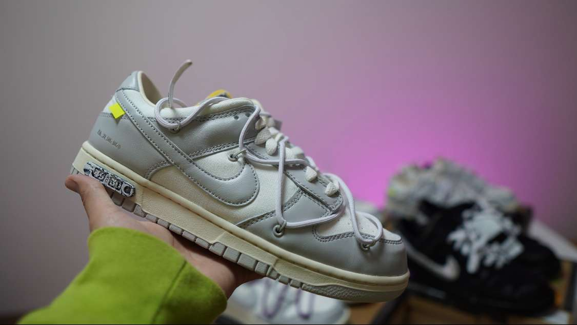 """OFF-WHITE × NIKE DUNK LOW 1 OF 50 """"49"""""""