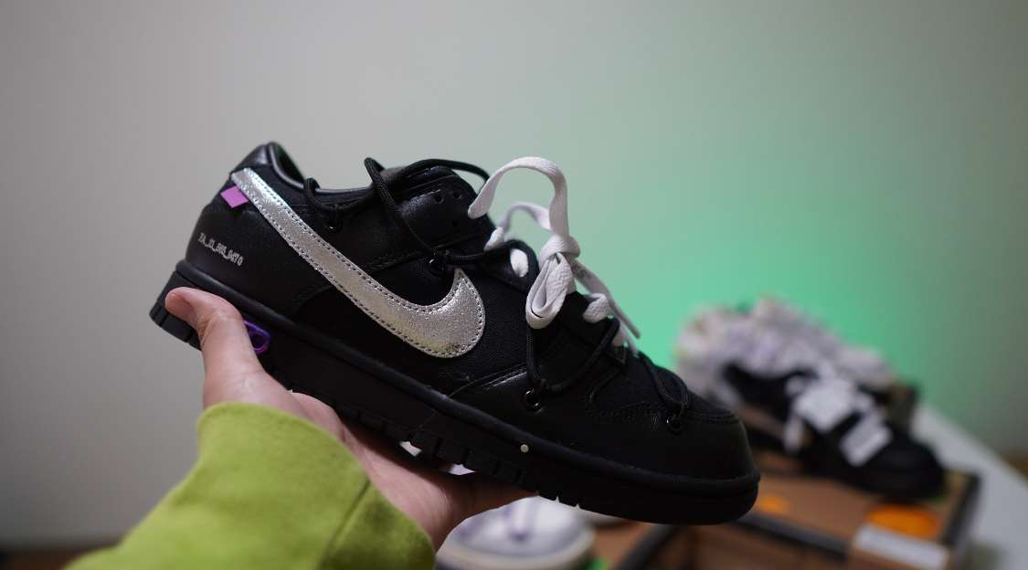 """OFF-WHITE × NIKE DUNK LOW 1 OF 50 """"50"""""""