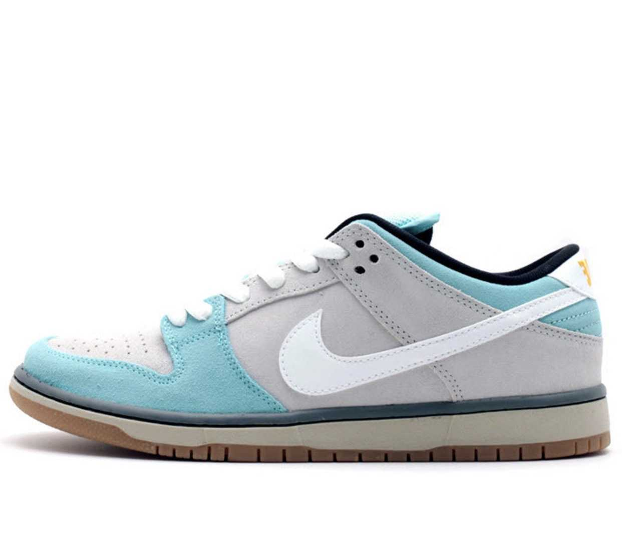 """DUNK LOW SB """"GULF OF MEXICO"""" GLACIER ICE/WHITE-LIGHT ASH GRY"""