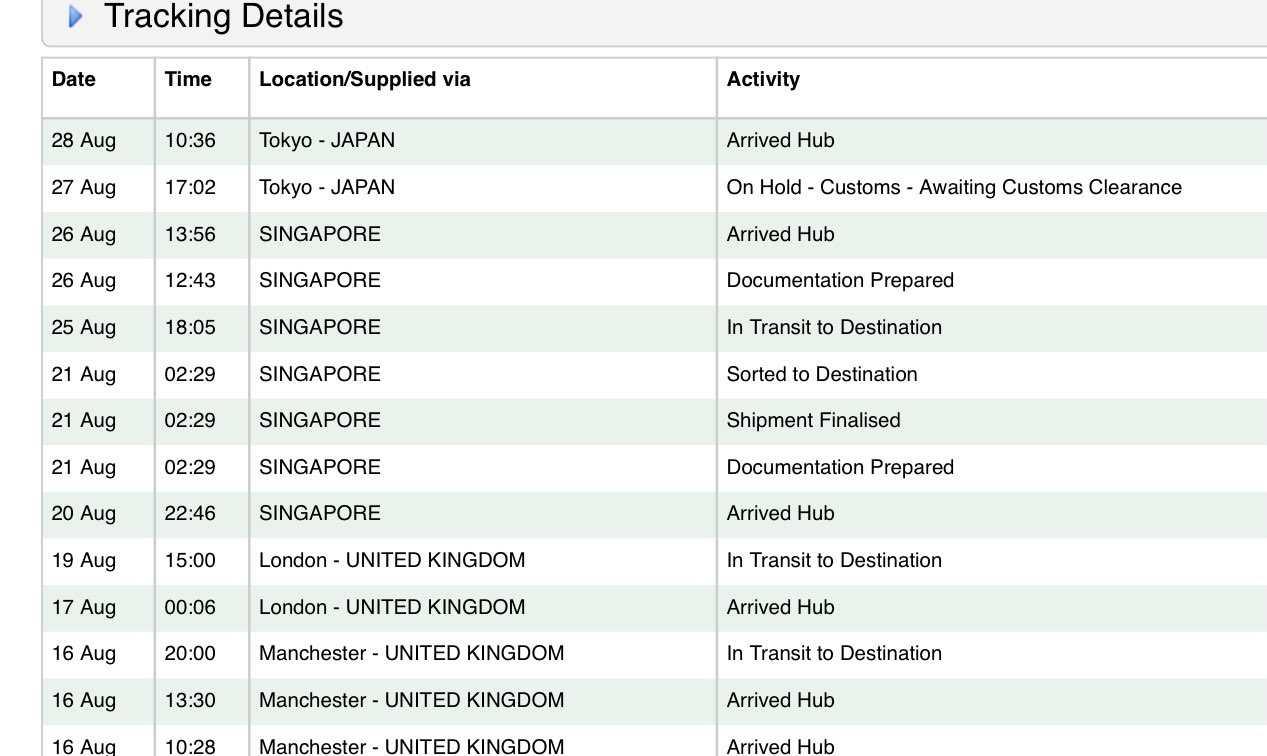 size? シンガポール満喫してやっと東京着いたかな? 早くおいでー。