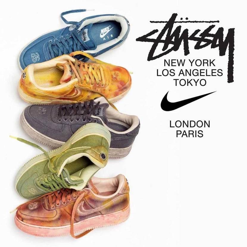 Stüssy x Nike Air Force 1 1月29日に発売予定。