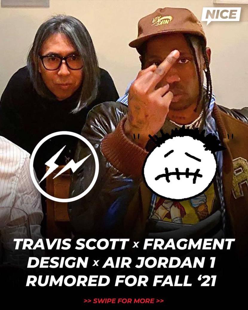 2 Legends  Travis Scott x Fragment x Ai