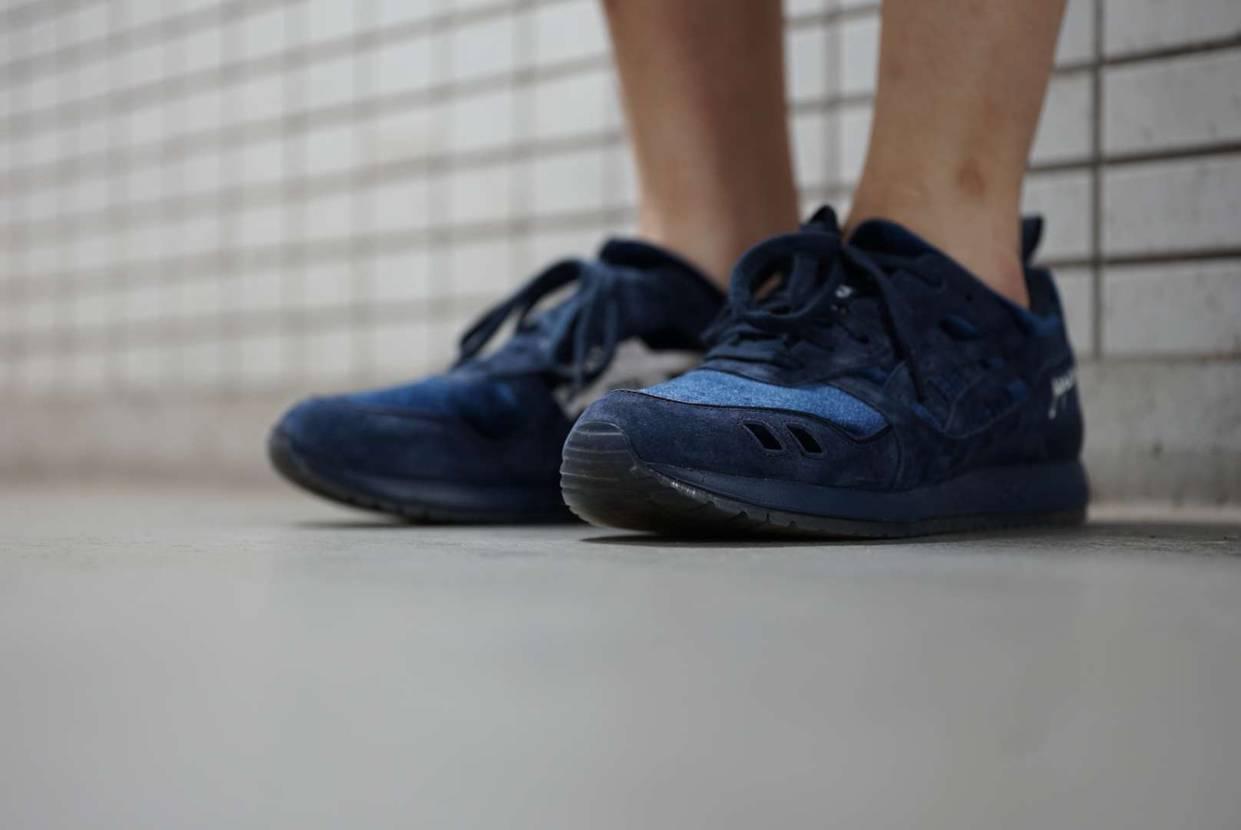 今日のスニーカー BEAMS × mita sneakers × ASICS T