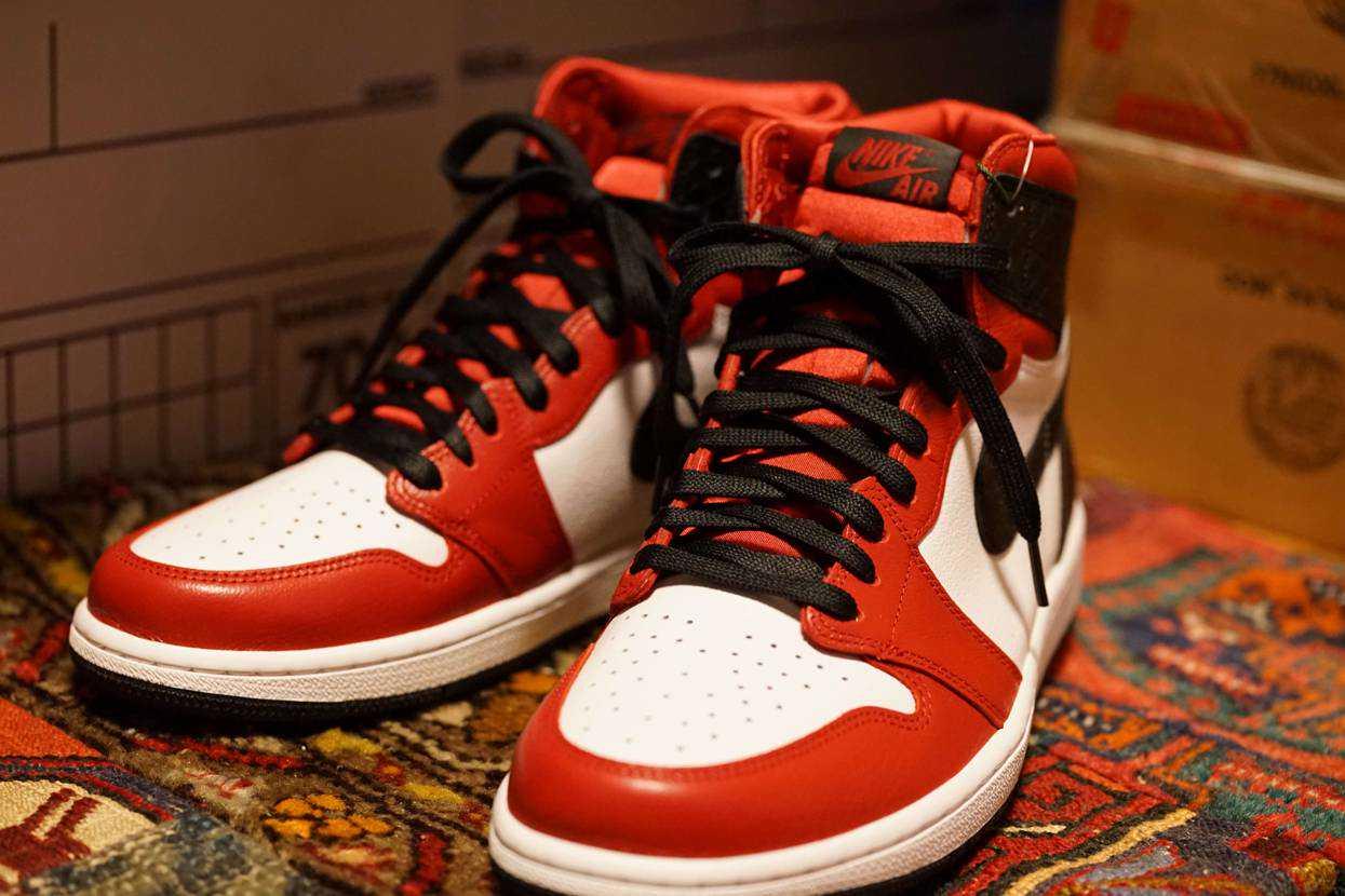 Nike Air Jordan 1 High OG Satin Snake届きま