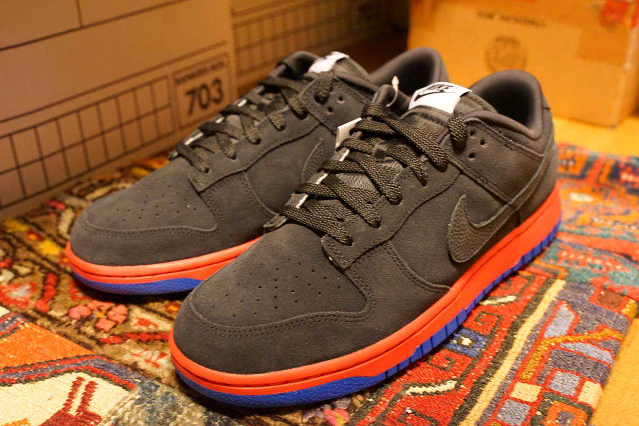 NIKE DUNK LOW 365 BY YOU をようやく受取。 アッパーは