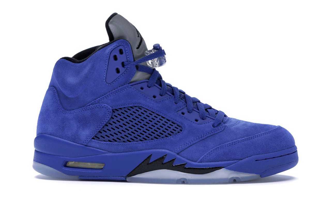 Jordan 5 Retro Blue Suede