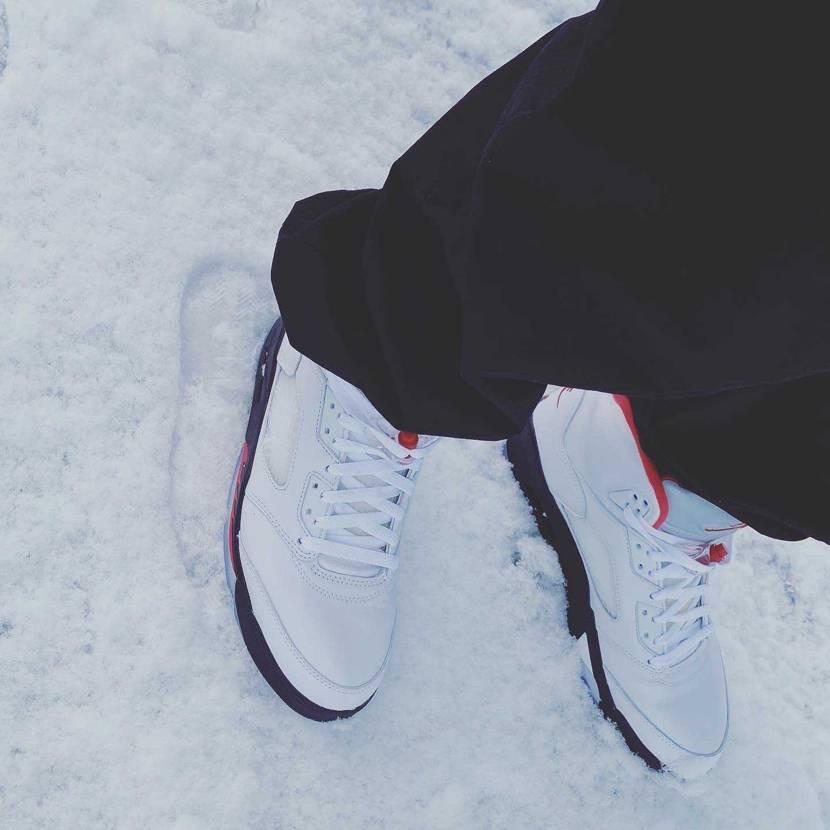 atmosで当選したダンクが大雪のためまだ届きません😭 初履きはFIRE RE