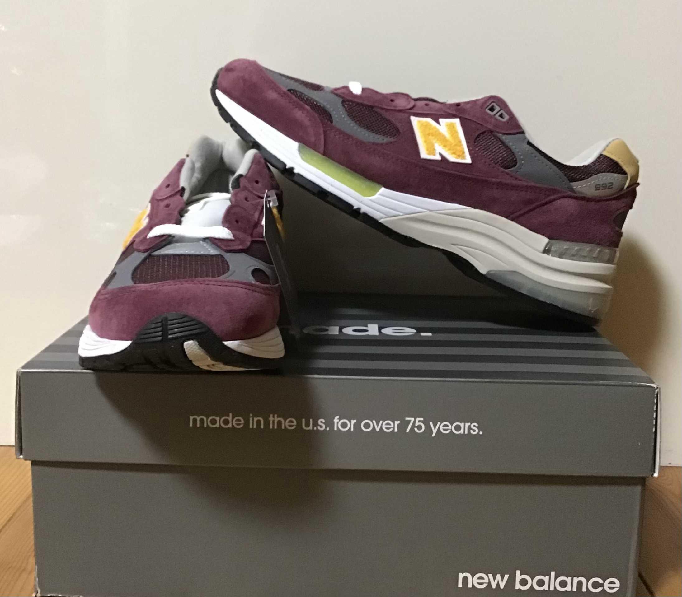 ニューバランス 992