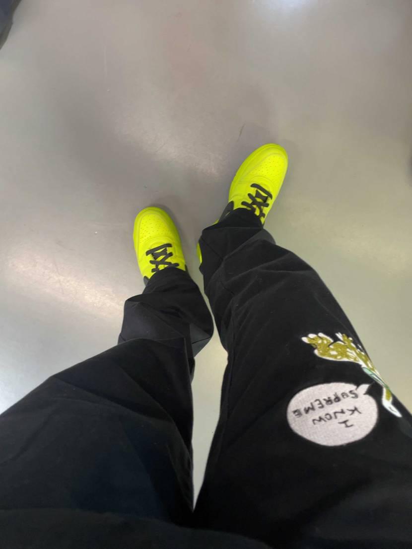 AMBUSH初履きです! カッコいい✨ #nike #dunk #スニーカー
