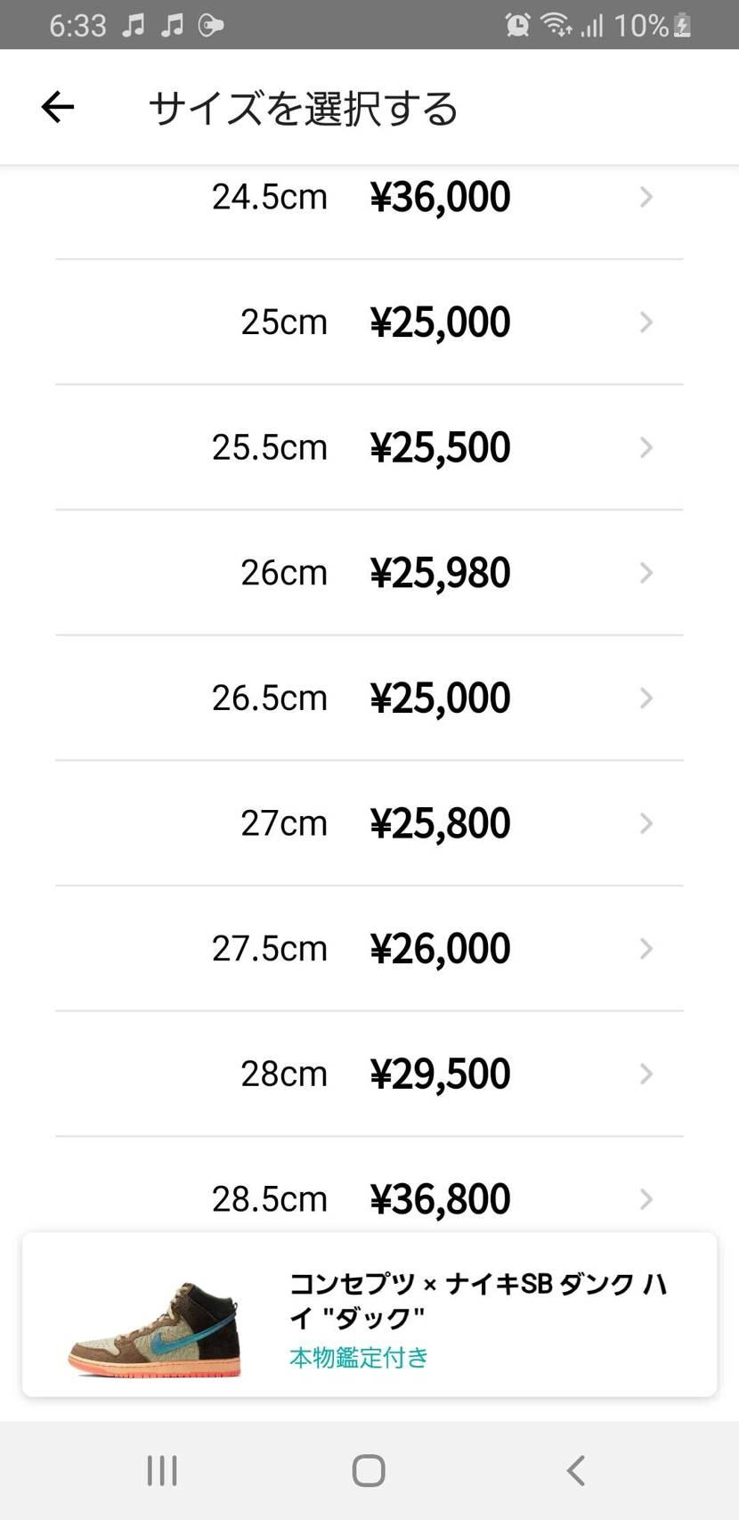 かなり値上がりしてきたな~~😭 フリマも全然売ってないし 足数やはり少ないか😭