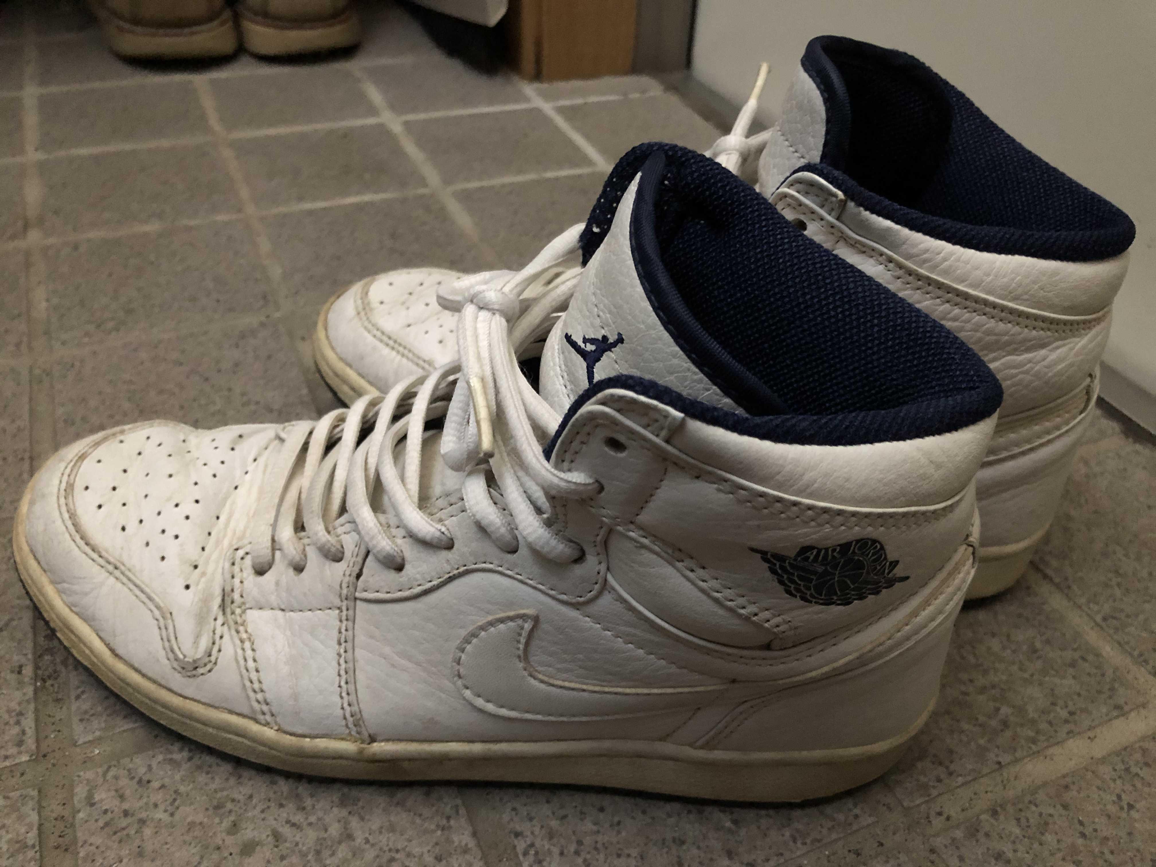 Nike Air Jordan 1 Retro Japan White(2001)