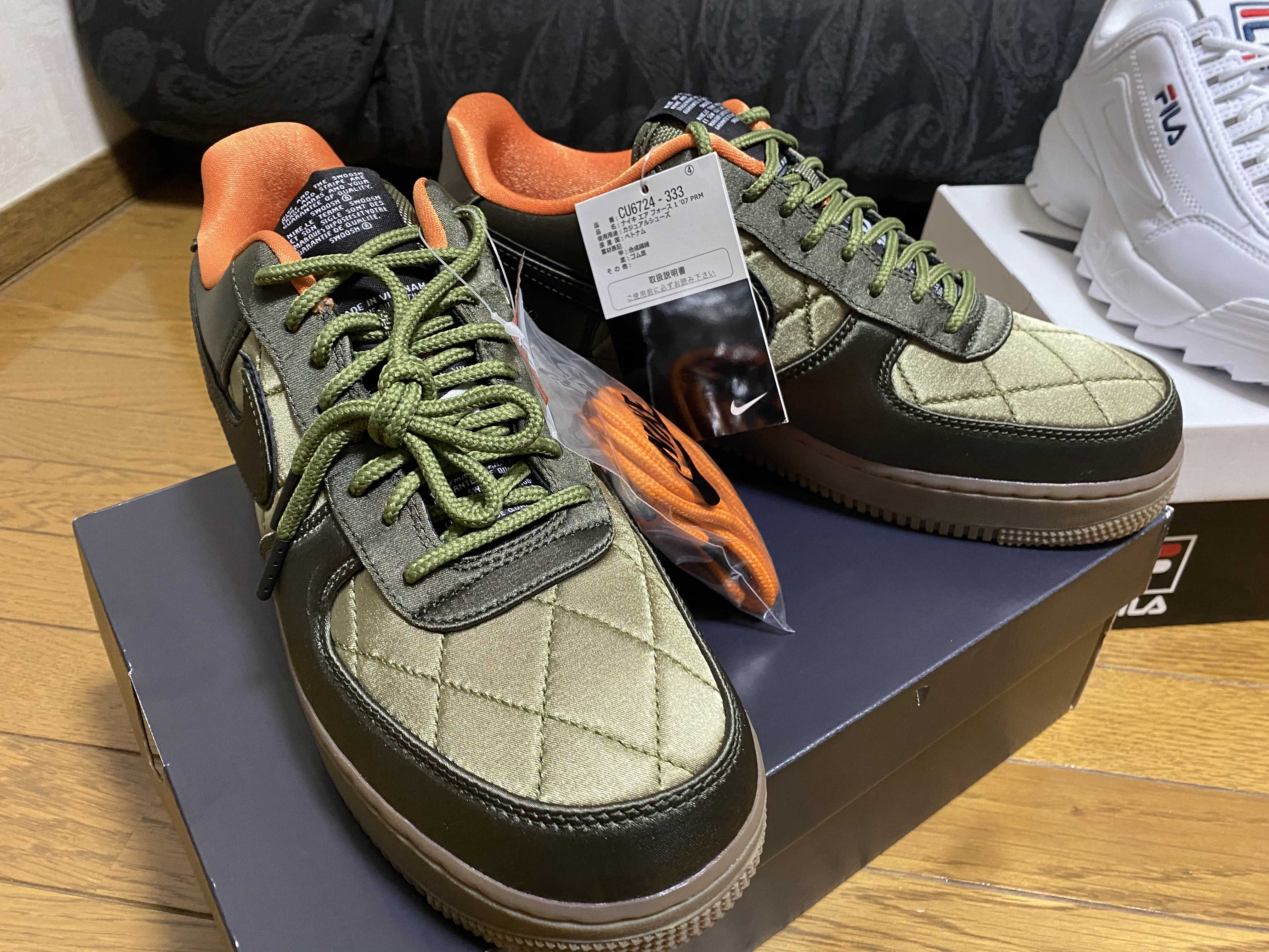 NIKE AIR FORCE 1 '07 PRM QUILTED
