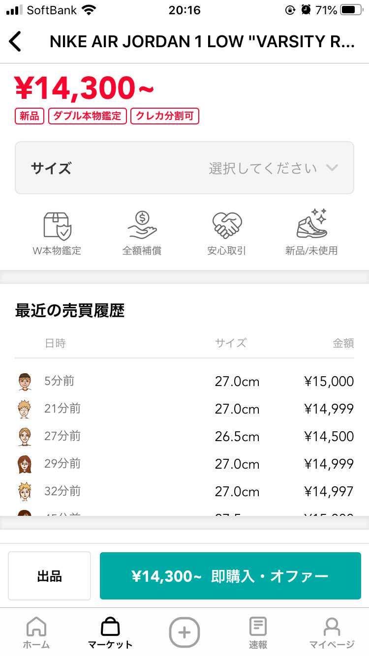 定価が税込13200円販売価格が15000円として、関東発でゆうパック80で11