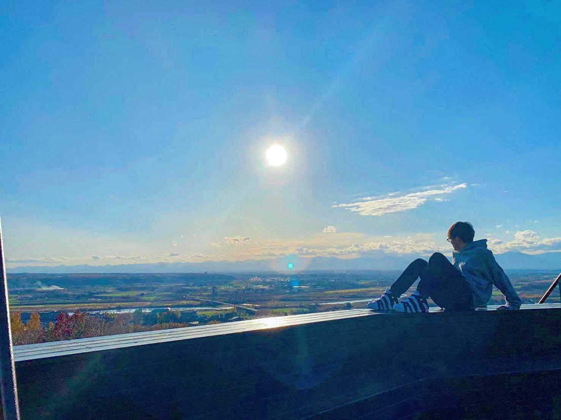 1ヶ月ほど前に撮ったものですが。  北海道らしさあるかな…? もう寒くてこ