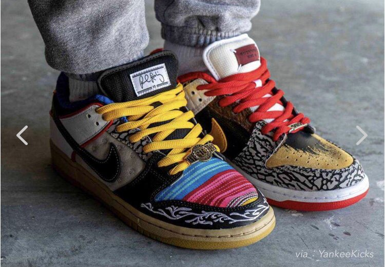 """【NIKE SB DUNK LOW """"WHAT THE P-ROD"""" 抽選】"""