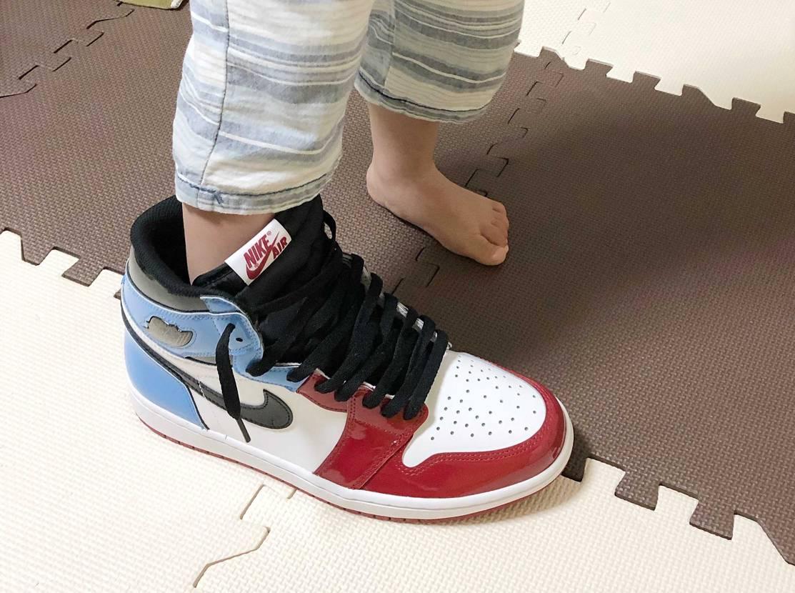 それパパの靴なんですが…