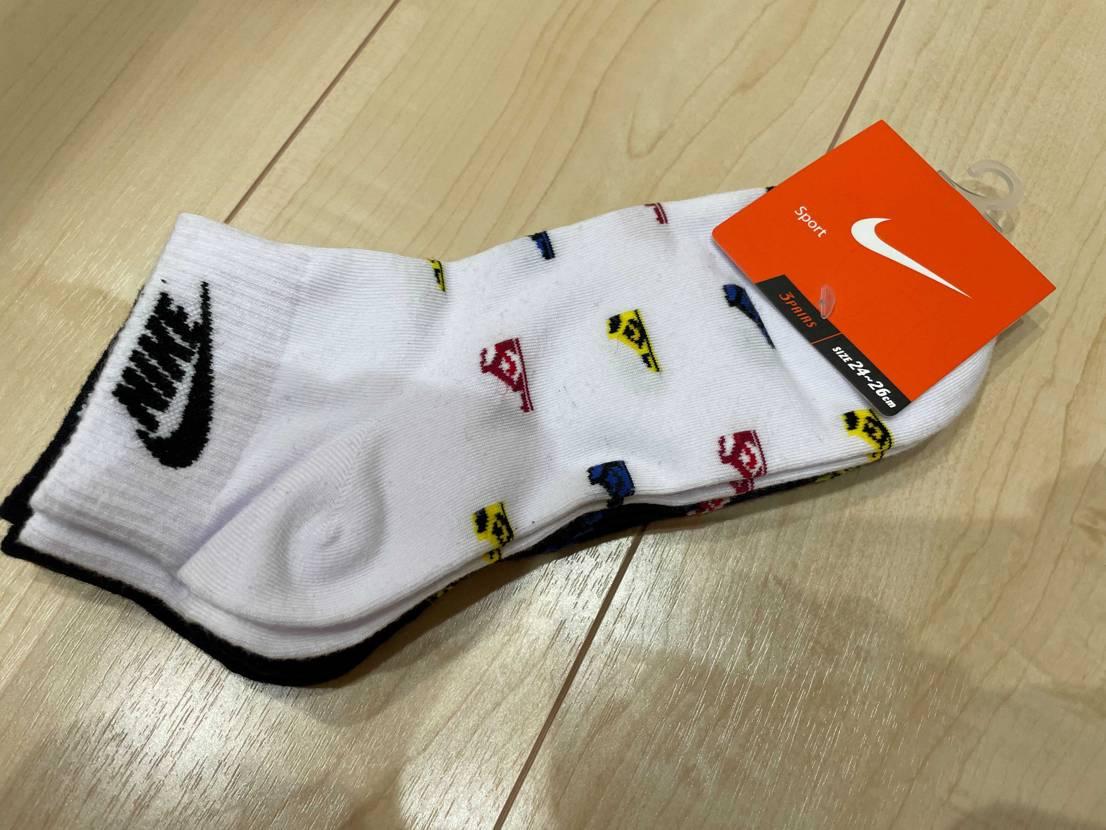 良い感じの靴下があったのでバーシティメイズ届いたら合わせる用に購入♪ 既出、既
