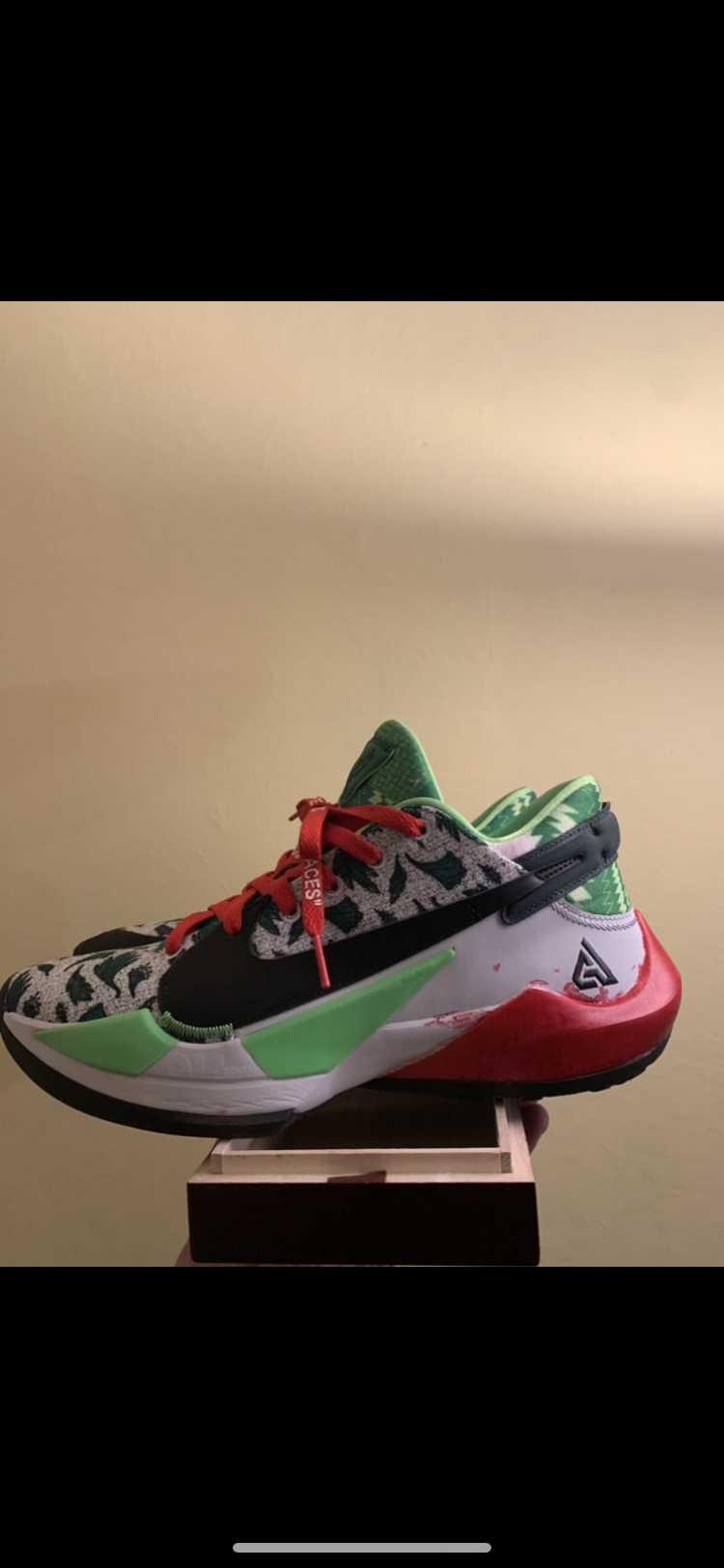 """Nike air zoom freak 2 naija """"custom"""""""