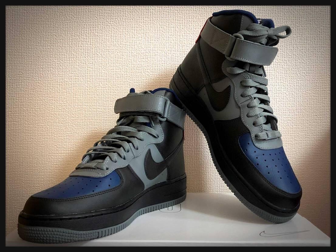 NikeByYouでデザインして注文してたエアフォース1HIGHも届いた^ ^!
