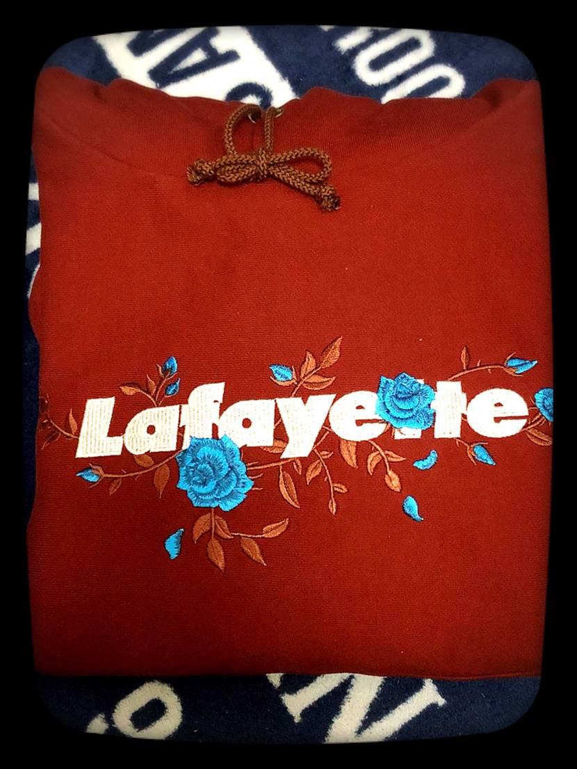 LafayetteのROSE LOGOパーカーをZOZOでGET^ ^!作りしっ