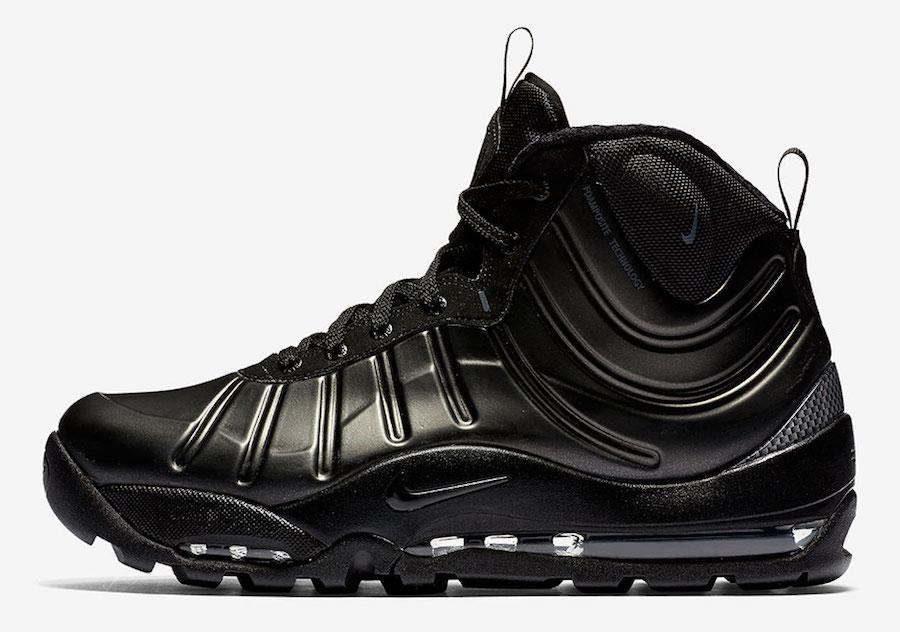 Nike Air Bakin Posite Black/Black/Black-Anthracite