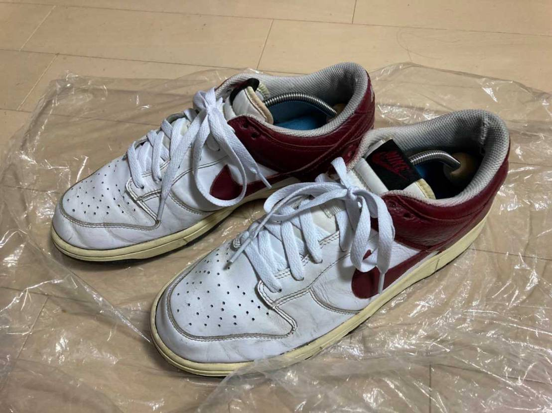 NIKE DUNK LOW LEATHER 312425-161 white/t