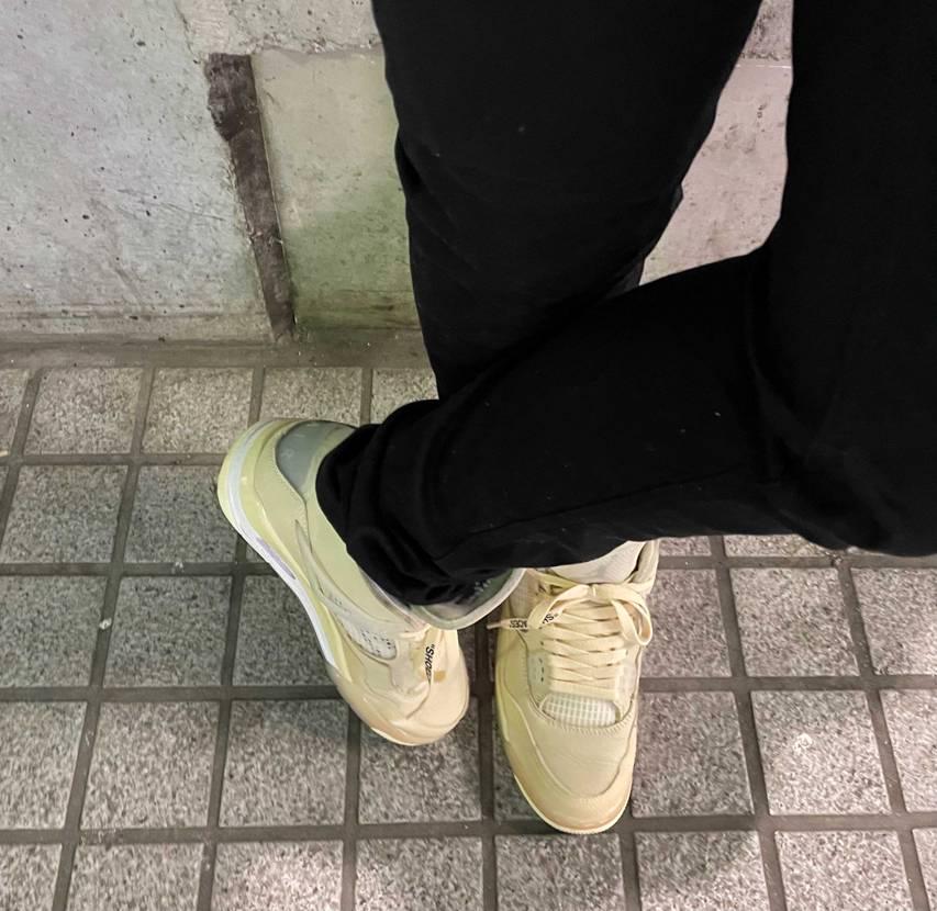 この靴の事を知ってる人からは「使うの勿体ない」とか「〇万円で売れるじゃん!」って