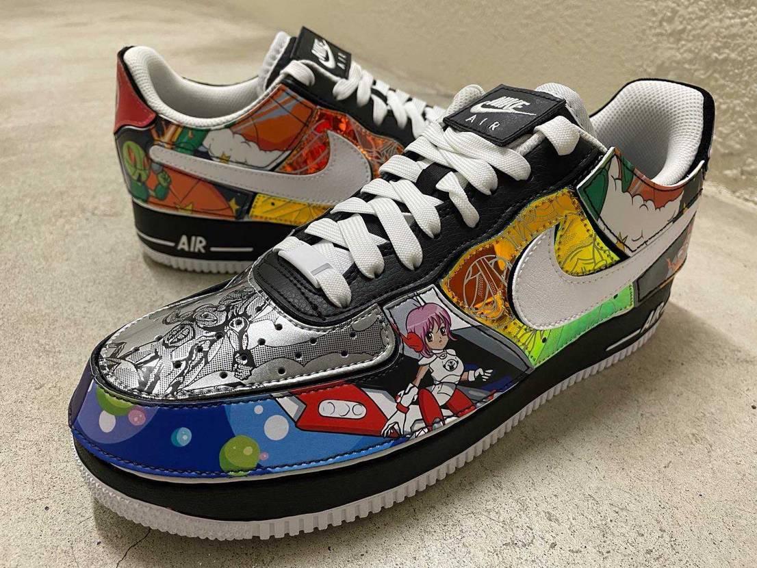 """10月8日 Nike Air Force 1/1 """"Mighty Swoosh"""